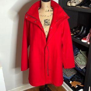 NWT Pendleton Cascade Wool Coat, size M